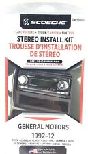 Scosche Gmt2049Af Car Truck Suv Stereo Install Kit Single Double Din 1992 - 2012