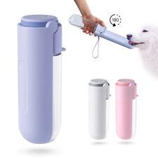 420ML Portable Pet Water Bottle For Dog Bowl Travel Pet Feeder Dispenser