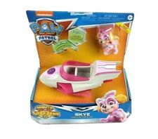 Paw Patrol Mighty Pups Super Paws Skye Deluxe Vehicle With Skye Figure