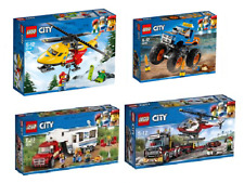 LEGO® CITY 2018 COLLECTION 4tlg. 60179 - 60180 - 60182 - 60183
