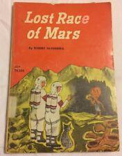 1966 Lost Race Of Mars Robert Silverberg Paperback Book Kids Children Scholastic