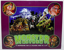 WHITE WOLF UNIVERSAL MONSTER MAYHEM BOARD GAME 100% COMPLETE GREAT CONDITION