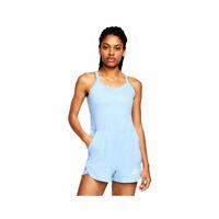Nike Women's Sportswear NSW Vintage Psychic Blue Romper CJ1863-436 AUTHENTIC NWT