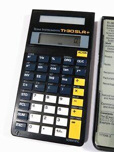 Texas Instruments TI-30 SLR+ Solar Powered Scientific Calculator