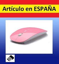 RATON OPTICO S por usb WIRELESS ordenador pc y apple mac gadget mouse SIN CABLES