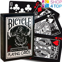 BICYCLE BLACK TIGER SPIELKARTEN KARTEN ELLUSIONIST ZAUBERTRICKS USPCC NEU