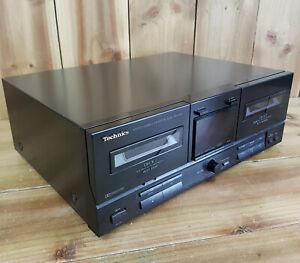 Technics RS-X120 Stereo Double Cassette Deck Read Description See Photos Vtg
