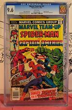 Marvel Team-up #52 CGC 9.6 Captain America & Spider-Man Falcon Batroc