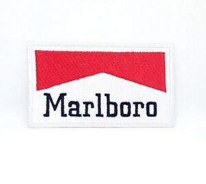 Marlboro formula 1 jacket racing iron/sew on Embroidered Patch