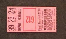 612 Baltimore Orioles Upper Reserved Baltimore Ticket Stub