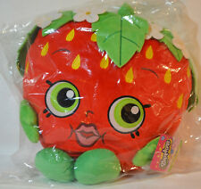 Shopkins Strawberry Kiss Cuddle Plushy Soft Huggable FREE US Shipping
