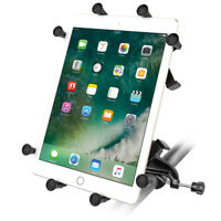 "RAM X-Grip Mount with Yoke Clamp Base for 9""-10"" Tablets"