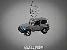70th Anniversary 2011 Jeep Wrangler Unlimited Custom Ornament 1/64 Adorno SUV