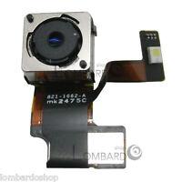 FOTOCAMERA POSTERIORE RETRO PER IPHONE 5 8 MP MPX CON FLASH NUOVA RICAMBIO