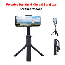 Bluetooth Handheld H5 Gimbal Stabilizer Selfie Stick LED For iPhone Smartphone