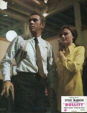 STEVE McQUEEN JACQUELINE BISSET BULLITT 1968 VINTAGE LOBBY CARD  #7