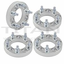 (4) 25mm  Wheel Spacers 5x4.5 Fits Ford Mustang Classic Car Hotrod Boss Shelby