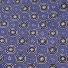 """Stafford Men's 100% Silk Tie Blue with Design 4""""x 60""""  T0104"""