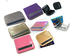 AUTOMATIC CIGARETTE ROLLING MACHINE Tobacco Smoking Case Tin Box Quality Strong
