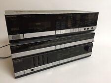 Magnavox cassette FC 1412 Stereo Tuner FR 1410 stacked