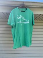 Vintage Converse All Star Mens Size Large Green T Shirt