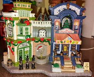 Lemax - Christmas Village Collection - Light Up Holiday Spirit Buildings