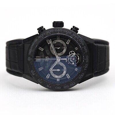 TAG Heuer Carrera Calibre Heuer 02T Wristwatch CAR5A8P.FC6415 Titanium Limited