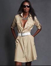 Ralph Lauren Black Label Safari Dress in Size 2