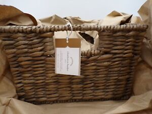 Pottery Barn Seagrass Utility Storage Organization Basket Medium Charleston#5049