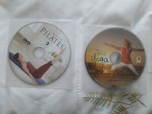 YOGA  AND PILATES DVDS
