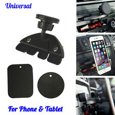 Universal Magnet Car CD Slot Holder Mount Stand For GPS MP4 5 & Tablet Phone New