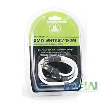 *NEW* JL AUDIO XMD-WHTAICY-1F2M MARINE AUDIO RCA Y-ADAPTER - 1 FEMALE, 2 MALE