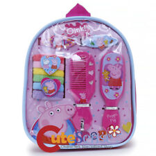 Peppa Pig Hair Accessory Set in Backpack