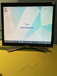 """Dell Ultrasharp 19"""" 1908FPt Series Monitor USB DVI VGA W/Stand & Wires Included."""