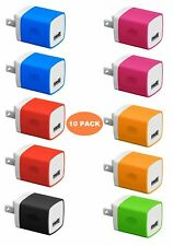 Boost Chargers 5W Power Adapter [10-Pack] USB Wall Charger 1A Cube for Outlet...