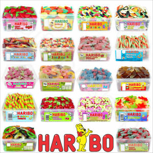 1 x FULL TUB HARIBO SWEETS PICK N MIX KIDS CANDY GIFT BOX PARTY FAVOURS TREATS