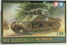 Tamiya 1/48 scale model kit M4 Sherman (early production)
