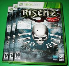Lot of 3 Risen 2: Dark Waters Microsoft Xbox 360 *Factory Sealed! *Free Ship!