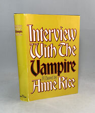 New listing Interview With The Vampire-Anne Rice-Signed!-First/1st Book Club Edition-Rare!