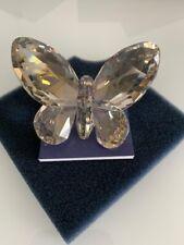 New ListingSwarovski crystal figurine Brilliant Silver Shade Butterfly 953051 New in Box.