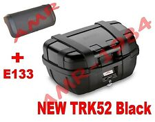 GIVI BAULETTO VALIGIA TREKKER TRK52 TRK52 NERA TRK52B BLACK  + SPALLIERA E133
