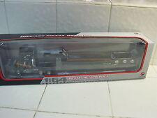 FIRST GEAR - MACK R MODEL TRUCK / TRI-AXLE LOWBOY TRAILER - 1/64 DIECAST 60-0270