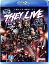 THEY LIVE John Carpenter*Rowdy Roddy Piper*Keith David Sci-Fi Sp Ed Blu-ray *NEW