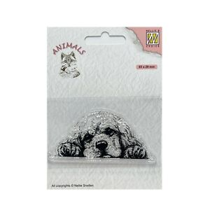 Dog Cocker Spaniel Cling Stamps Nellie Snellen clear craft stamp Animals ANI022