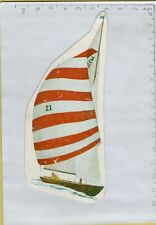 ADESIVO VINTAGE STICKER barca a vela