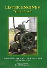 Lister Engines Types H to R Covering Lister types H, J, K, L, M, N, P, PE, Q & R