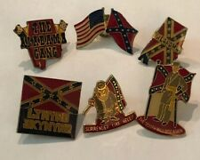 The Alabama Gang The South Will Rise 6 Vintage Lynyrd Skynyrd Southern Rock Pins