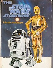 VINTAGE STAR WARS STORYBOOK FULL COLOR PHOTOGRAPHS 1978 RANDOM HOUSE
