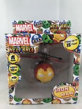 Marvel Iron Man Heli Ball Sphere Control Hand Fly Up 15' USB Charge Helicopter