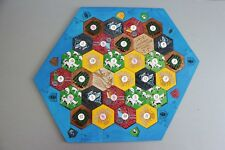 Settlers of Catan Board | 5-6 Players FULL. Custom, Wood, Laser Cut.